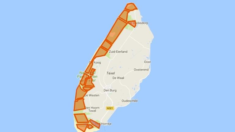 texel mapa